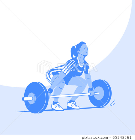 Dynamic sports, Various sports players illustration 057 65348361