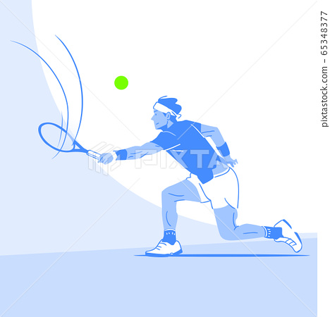 Dynamic sports, Various sports players illustration 047 65348377