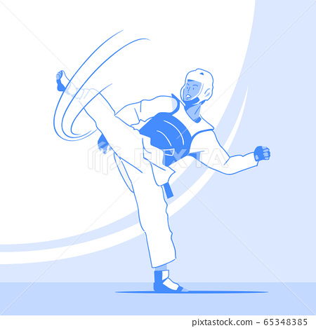 Dynamic sports, Various sports players illustration 042 65348385