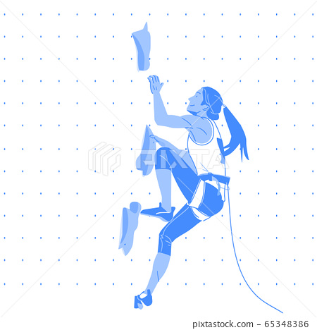 Dynamic sports, Various sports players illustration 029 65348386