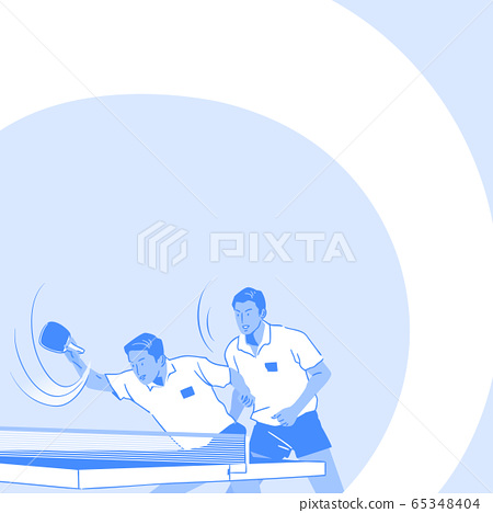 Dynamic sports, Various sports players illustration 037 65348404