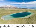 Vrazje lake in Durmitor national park, aerial view 65352166