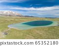 Vrazje lake in Durmitor national park, aerial view 65352180