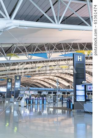 關西國際機場國際出發層 65361474