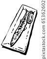 鹽烤秋刀魚的插圖圖像 65362602