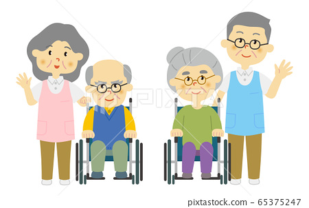 Senior caregiver 65375247