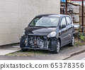 Car accident traffic accident car image material 65378356