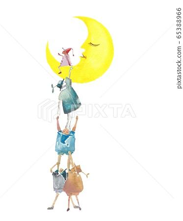 仙女月亮 65388966