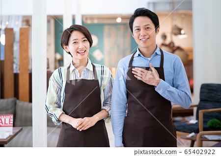 계산대 점원 직원 아르바이트 65402922