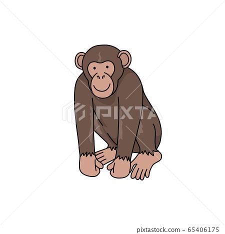 黑猩猩 65406175
