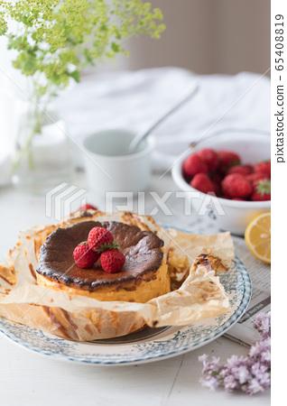 바스크 치즈 케이크 65408819