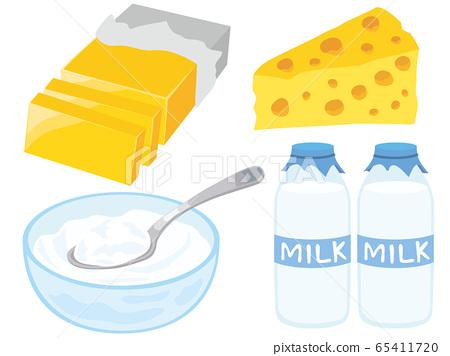 乳製品 65411720