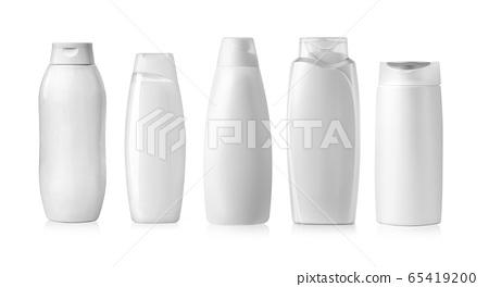 Plastic Shampoo Bottles 65419200