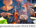 Meat barbecue 65423962