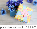 Colorful and fashionable Japanese origami box 65431374
