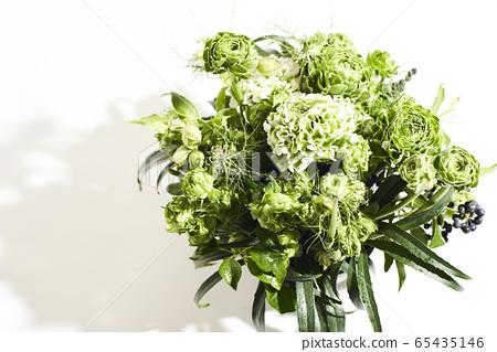 綠色鮮花 65435146