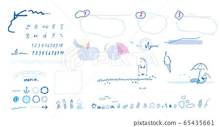 海彩色插圖2 65435661