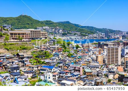 이즈모 근린 공원에서 나가사키 시가지의 전망 【나가사키】 65437950