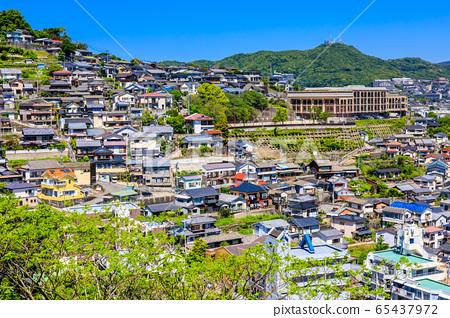 이즈모 근린 공원에서 나가사키 시가지의 전망 【나가사키】 65437972