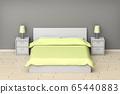 Modern bedroom interior 65440883