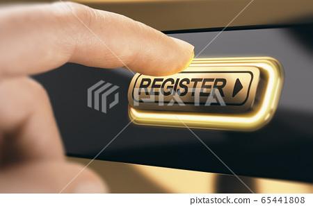 Business membership. Registration of a new member 65441808
