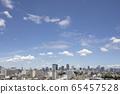 Aozora copy space in Tokyo 65457528