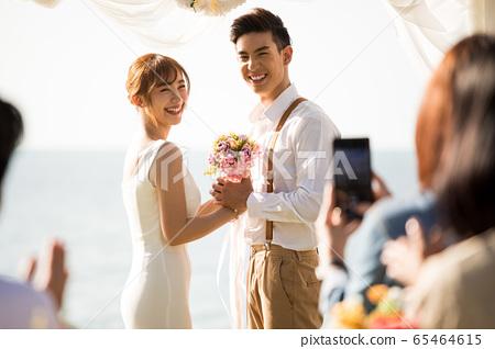 로맨틱 한 리조트 웨딩 65464615