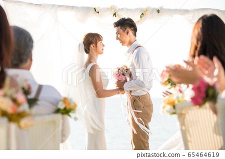 로맨틱 한 리조트 웨딩 65464619
