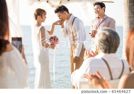 로맨틱 한 리조트 웨딩 65464627