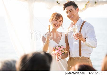 浪漫度假婚禮 65464635
