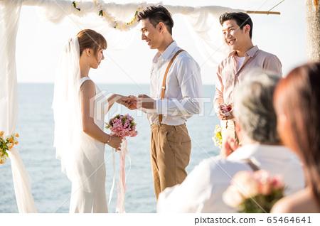 浪漫度假婚禮 65464641
