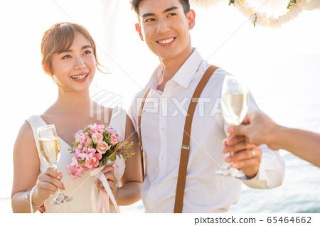 浪漫度假婚禮 65464662