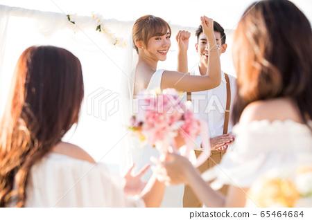 浪漫度假婚禮 65464684