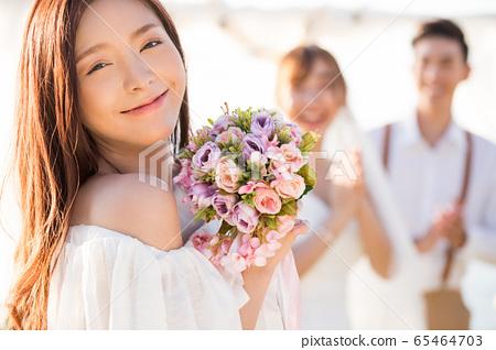 로맨틱 한 리조트 웨딩 65464703