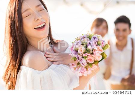 로맨틱 한 리조트 웨딩 65464711