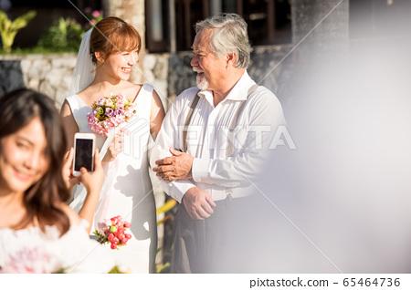 로맨틱 한 리조트 웨딩 65464736