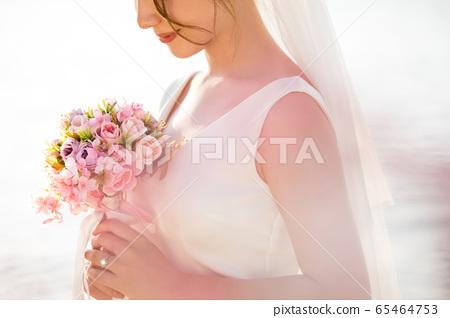 로맨틱 한 리조트 웨딩 65464753