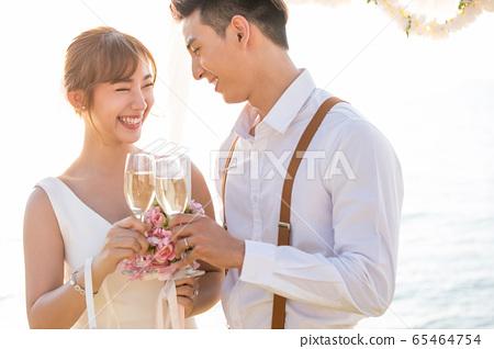 로맨틱 한 리조트 웨딩 65464754