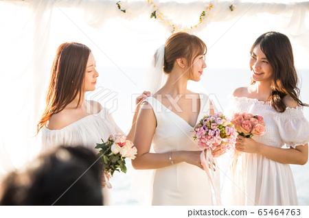 로맨틱 한 리조트 웨딩 65464763