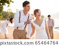 로맨틱 한 리조트 웨딩 65464764
