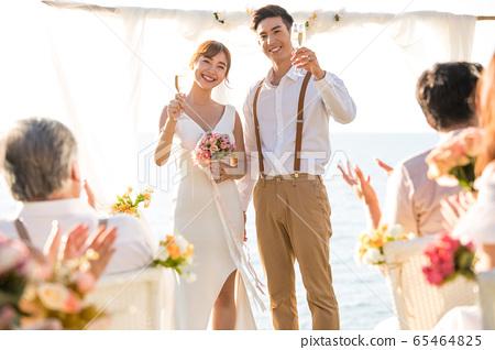 로맨틱 한 리조트 웨딩 65464825