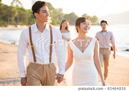 로맨틱 한 리조트 웨딩 65464838