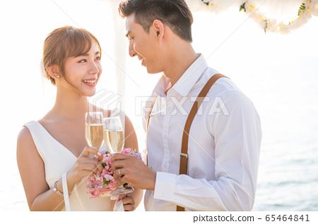 로맨틱 한 리조트 웨딩 65464841