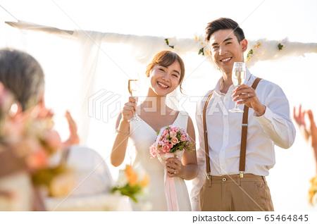 로맨틱 한 리조트 웨딩 65464845