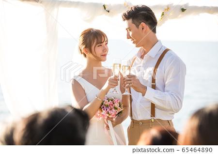 로맨틱 한 리조트 웨딩 65464890
