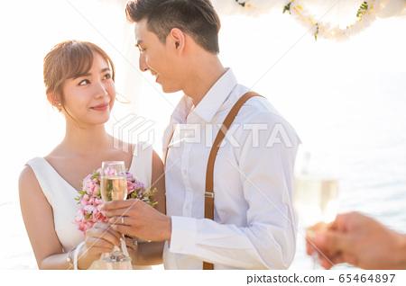 로맨틱 한 리조트 웨딩 65464897