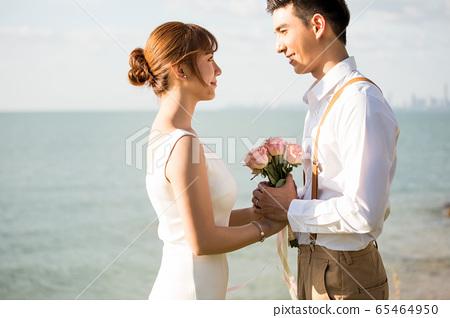 로맨틱 한 리조트 웨딩 65464950