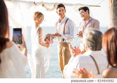 로맨틱 한 리조트 웨딩 65464992
