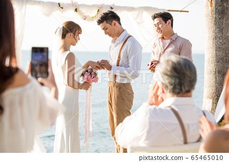 로맨틱 한 리조트 웨딩 65465010