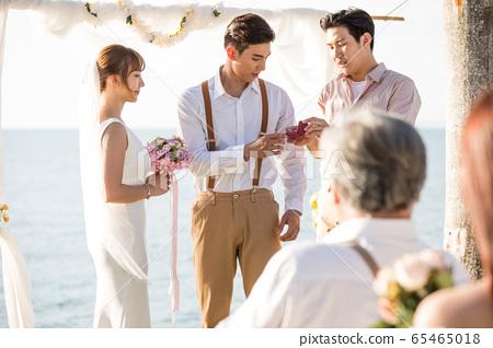 로맨틱 한 리조트 웨딩 65465018